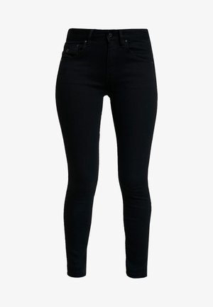 ARC 3D MID SKINNY  - Jeans Skinny Fit - pitch black