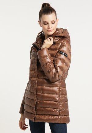 Down coat - nougat