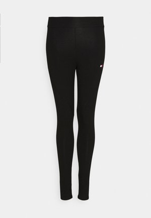 LEGGING LOGO - Legginsy - black
