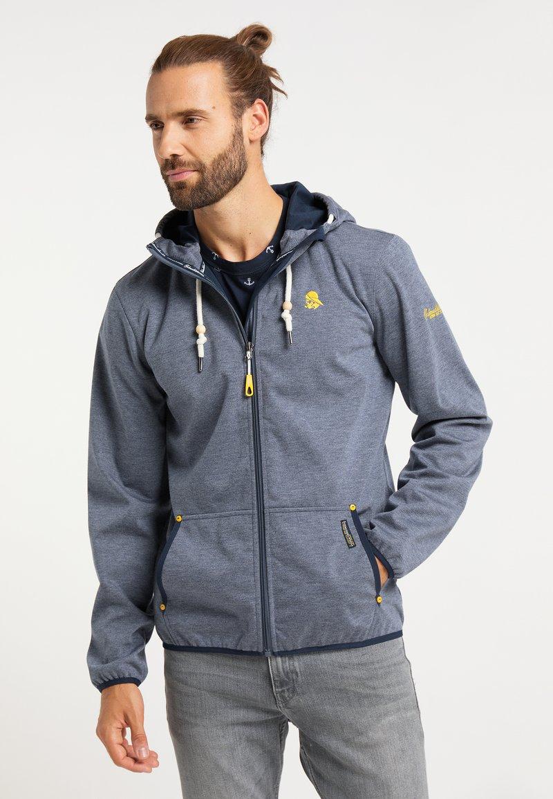 Schmuddelwedda - Waterproof jacket - marine melange