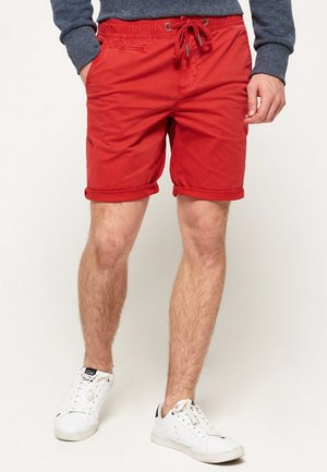 International Sun Scorched Chino Shorts - Shorts - riviera red