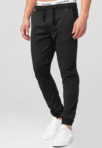 INDICODE JEANS - FIELDS - Trousers - black - 3
