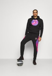 Nike Performance - JORDAN PARIS ST GERMAIN HOODIE - Club wear - black - 1