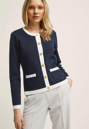 Cardigan - navy stripe