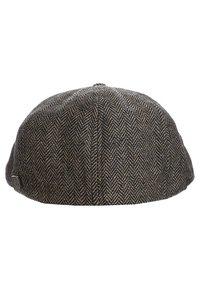 Brixton - BROOD - Muts - brown/khaki herringbone - 3