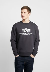 Alpha Industries - Sweatshirt - iron grey - 0