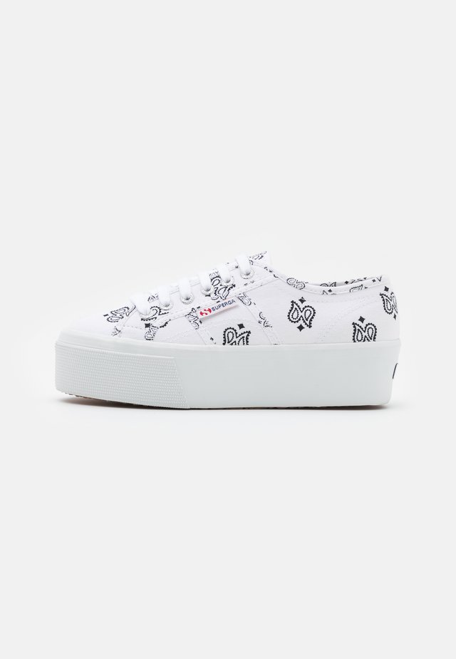 2790 - Sneakersy niskie - white/black