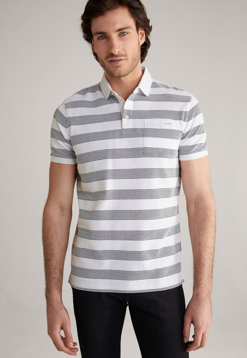 JOOP! - PAOLO - Polo shirt - weiß/navy
