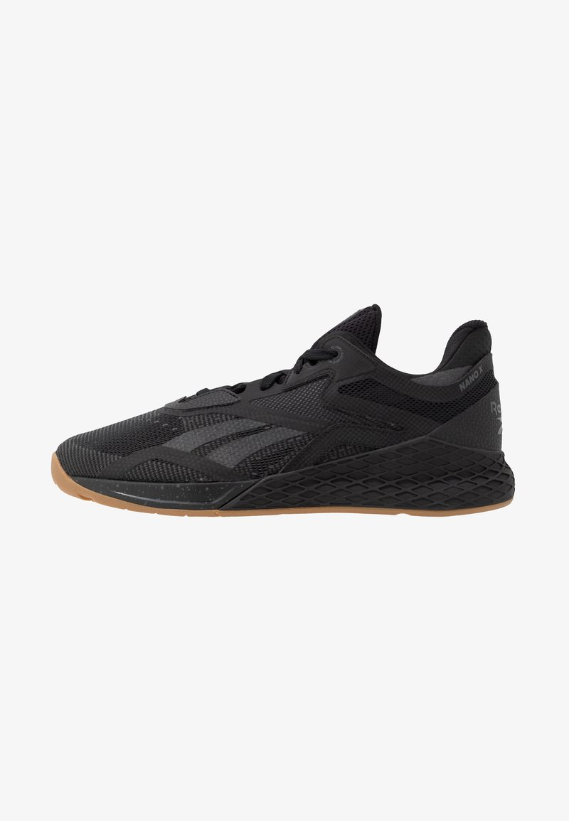 Reebok - NANO X - Sportschoenen - black/true grey