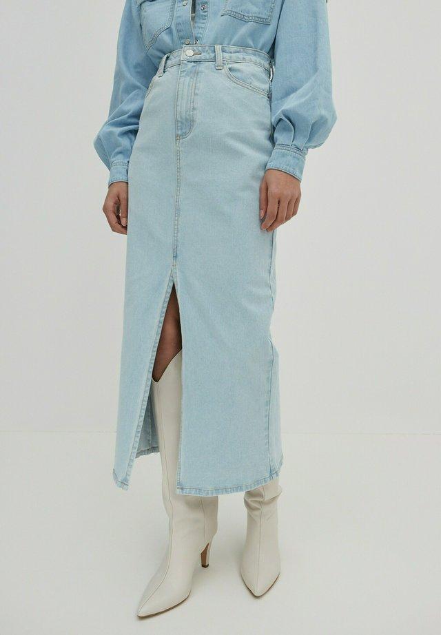 Jeansrok - blue denim