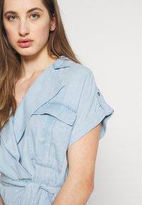 Noisy May - NMVERA ENDI DRESS - Shirt dress - light blue denim - 5