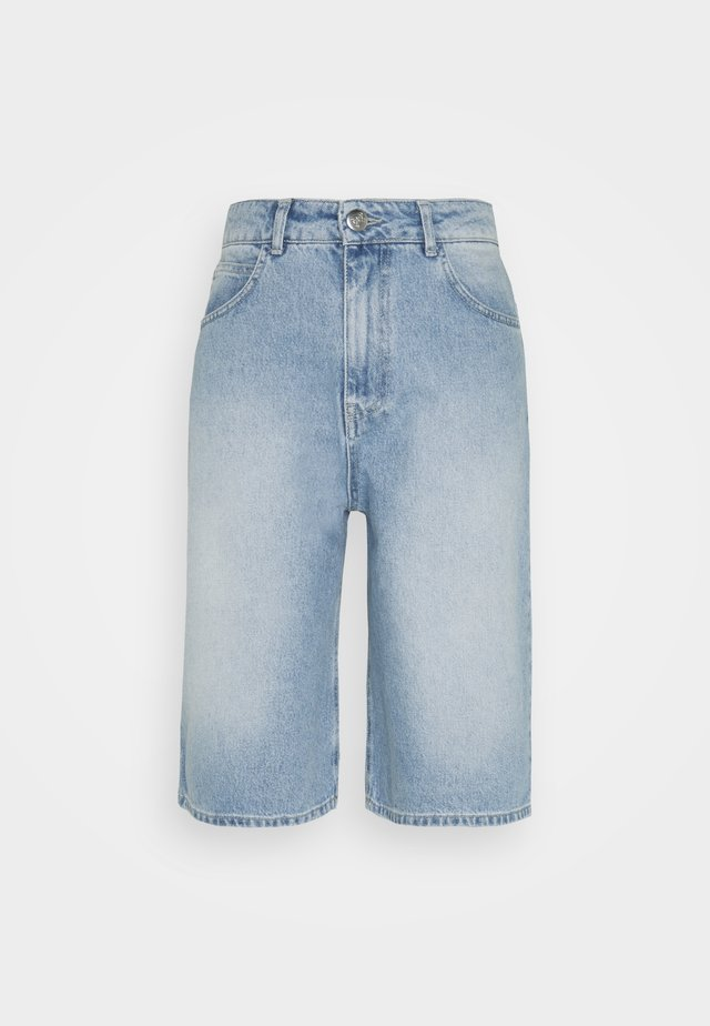 BAY BERMUDA - Shorts di jeans - light waterblue