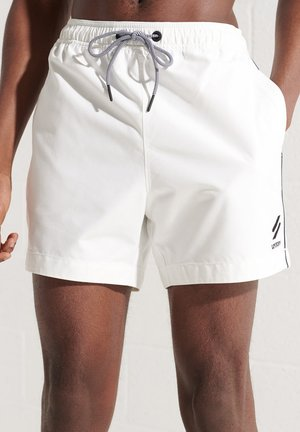 TRI SERIES - Shorts da mare - white