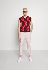 Jaded London - 70S WAVE - Jumper - red - 1