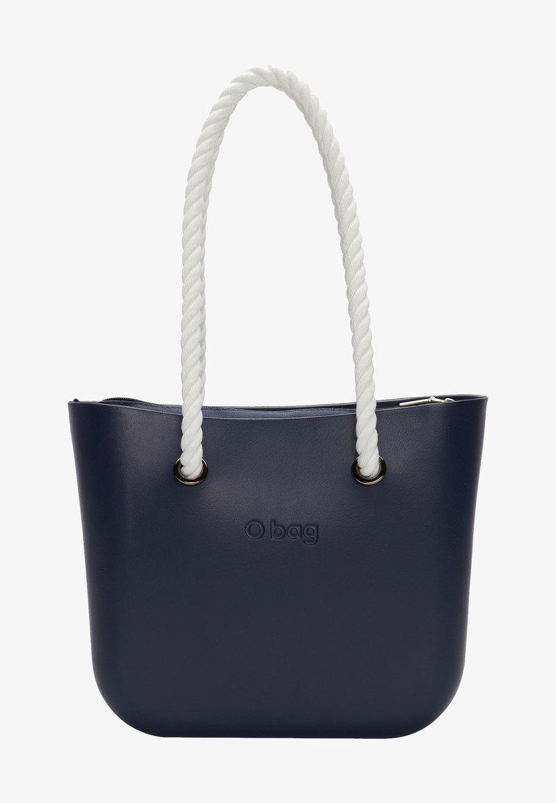 O Bag - Handbag - blu navy bianco