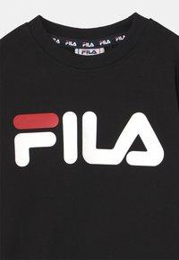 Fila - TIM LOGO CREW UNISEX - Sweatshirt - black - 2