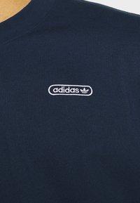 adidas Originals - TEE UNISEX - Basic T-shirt - collegiate navy - 4