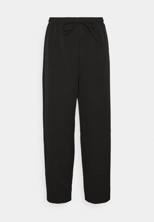 COCOON PANTS - Bukse - black