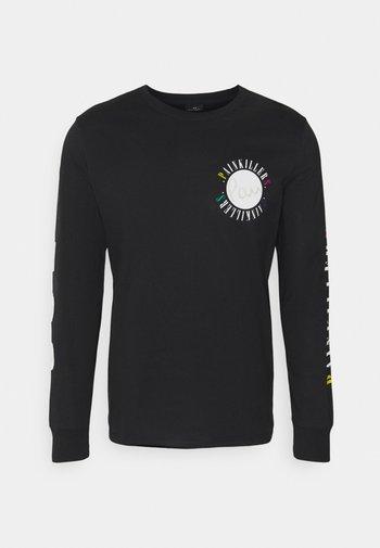 MENS PAINKILLERS - Long sleeved top - black