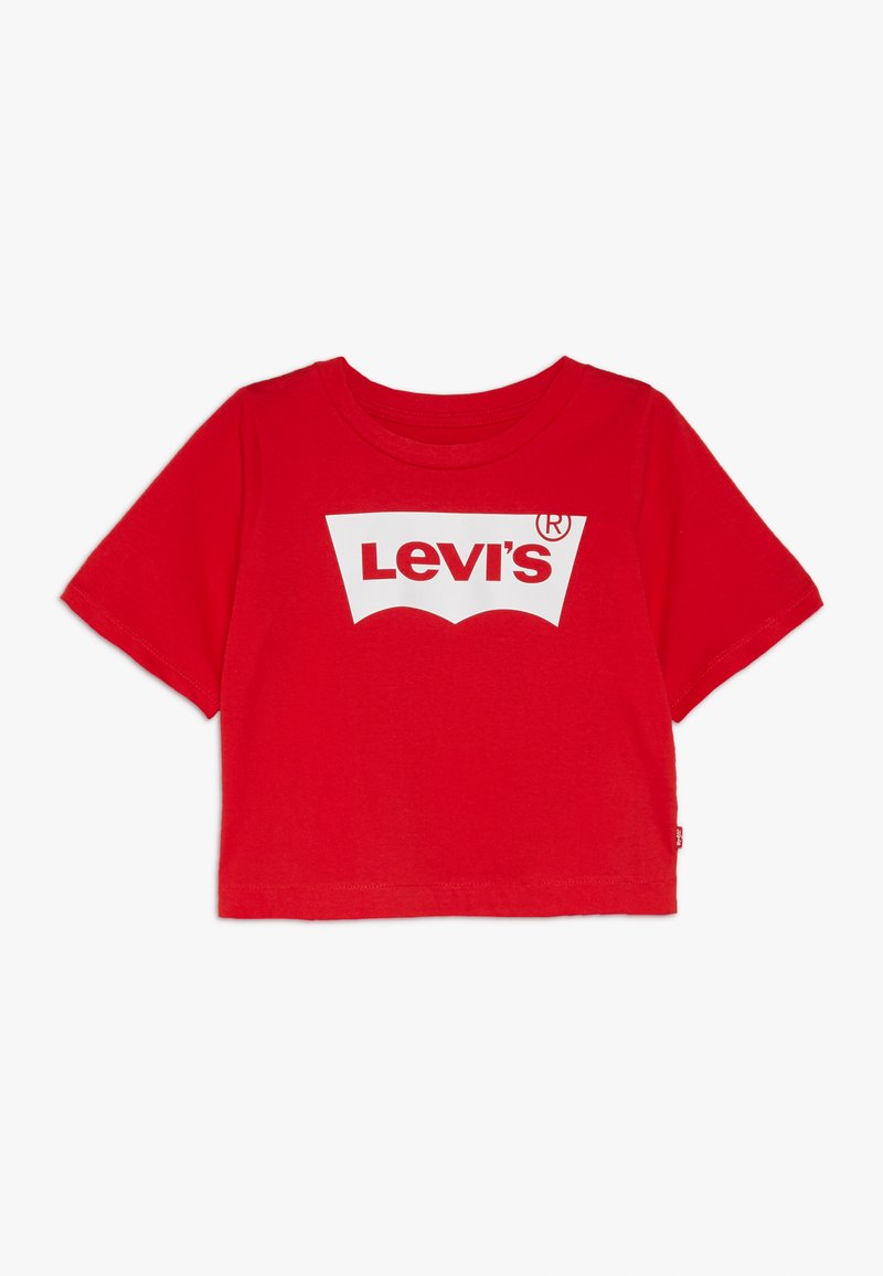 Levi's® - LIGHT BRIGHT CROPPED - Print T-shirt - super red