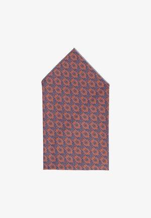 TANTE GERDA - Pocket square - braun/blau