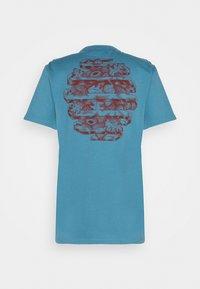 WAWWA - HARMONIA UNISEX - Print T-shirt - sky blue - 8