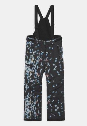 WINTER TERRIE UNISEX - Snow pants - black