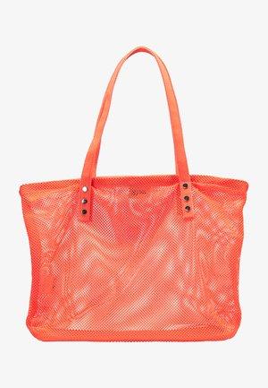 Shopping bag - coral