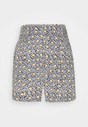 TILE PRINT - Shorts - black