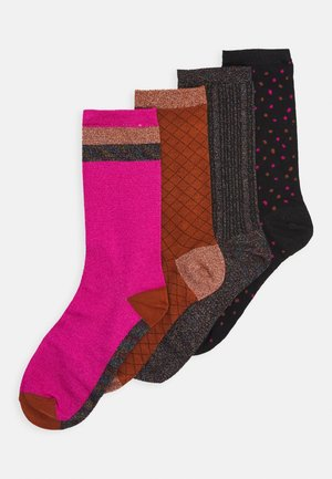 SLFCHARLOTTE SOCK GIFTBOX 4 PACK - Socks - black