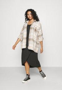 Ragwear Plus - ETHANY - Jersey dress - black - 1
