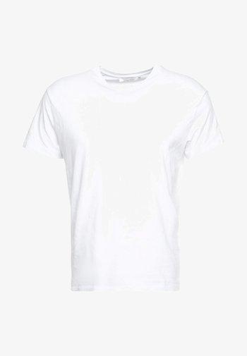 KRONOS - Jednoduché triko - white
