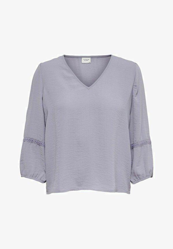 JDY JDYLAURA - Bluzka z długim rękawem - lavender gray/liliowy JOEE