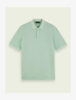 GARMENT DYED  - Polo shirt - seafoam