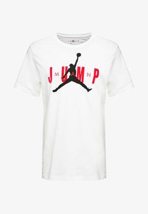 M J CTN SS JUMP CREW - T-Shirt print - white
