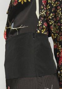Victoria Victoria Beckham - PLEATED SKIRT - Áčková sukně - black - 5