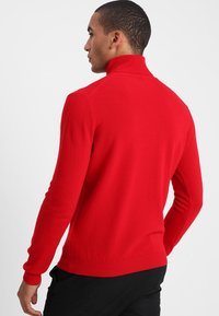 Benetton - BASIC ROLL NECK - Svetr - red - 2