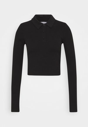 ERIN LONG SLEEVE - Poloshirt - black
