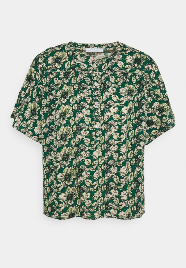 BO BLOUSE - Blouse - evergreen