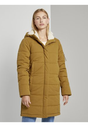 Winter coat - warm curry yellow