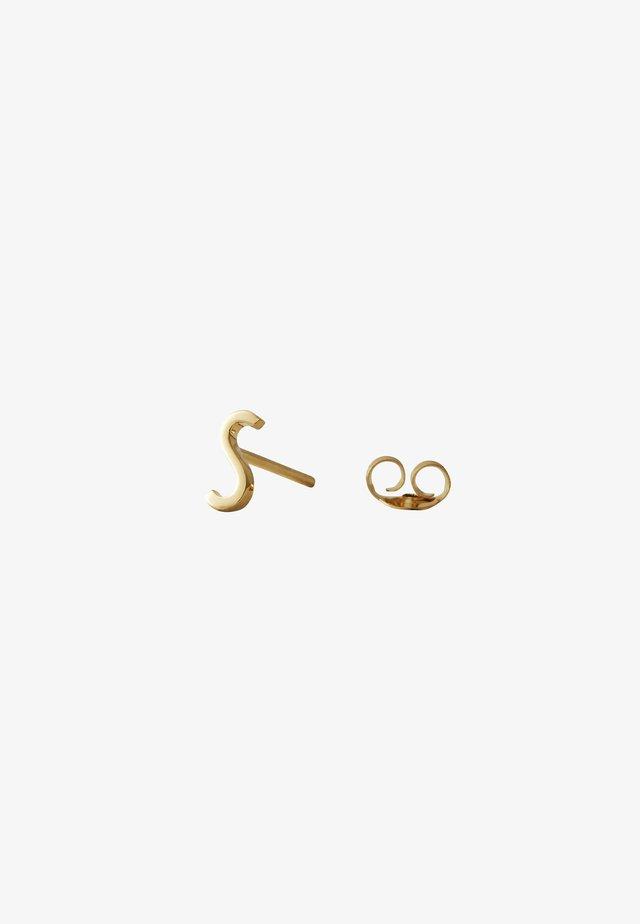 EARRING STUDS ARCHETYPES - S - Earrings - gold