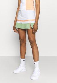 South Beach - TENNIS SKIRT - Sportovní sukně - white - 0