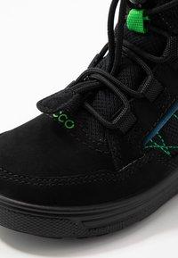 ECCO - URBAN SNOWBOARDER - Winter boots - black/poseidon - 2