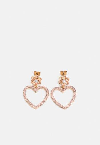 PCBLOMMING EARRINGS - Earrings - gold color