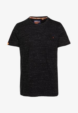 T-shirt basic - vast black space dye
