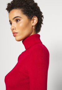 Anna Field - BASIC- RIBBED TURTLE NECK - Maglione - red - 5