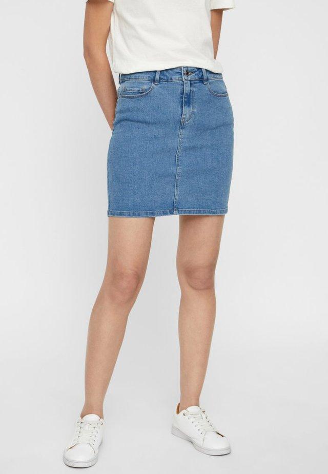 Denim skirt - light blue denim