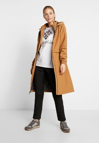 Columbia - FIRWOOD™ LONG JACKET - Waterproof jacket - light elk - 1
