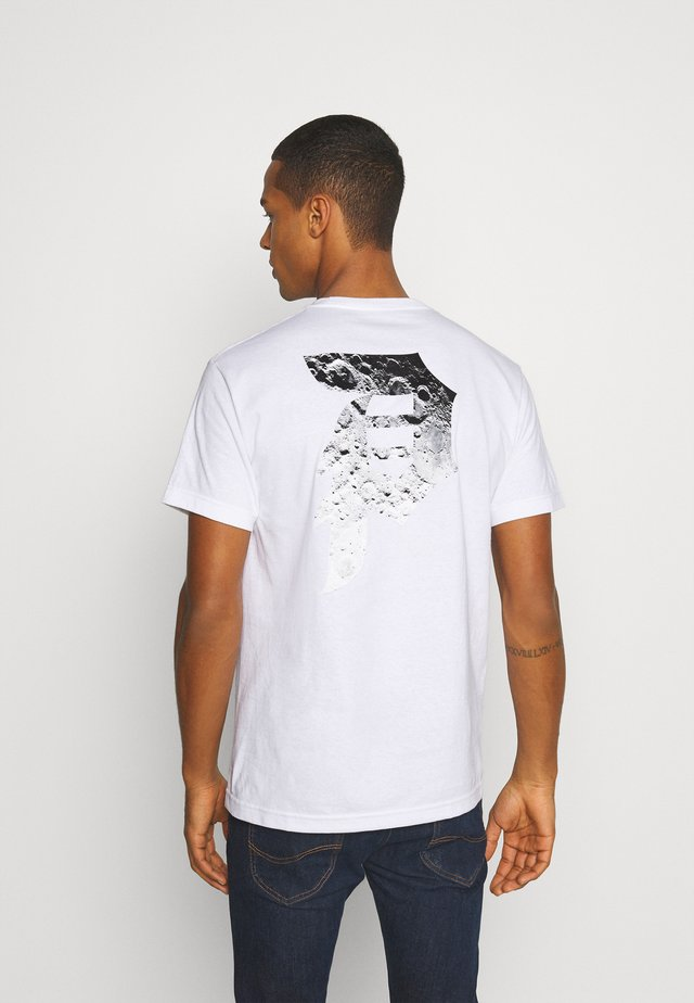MOON TEE - T-shirts med print - white