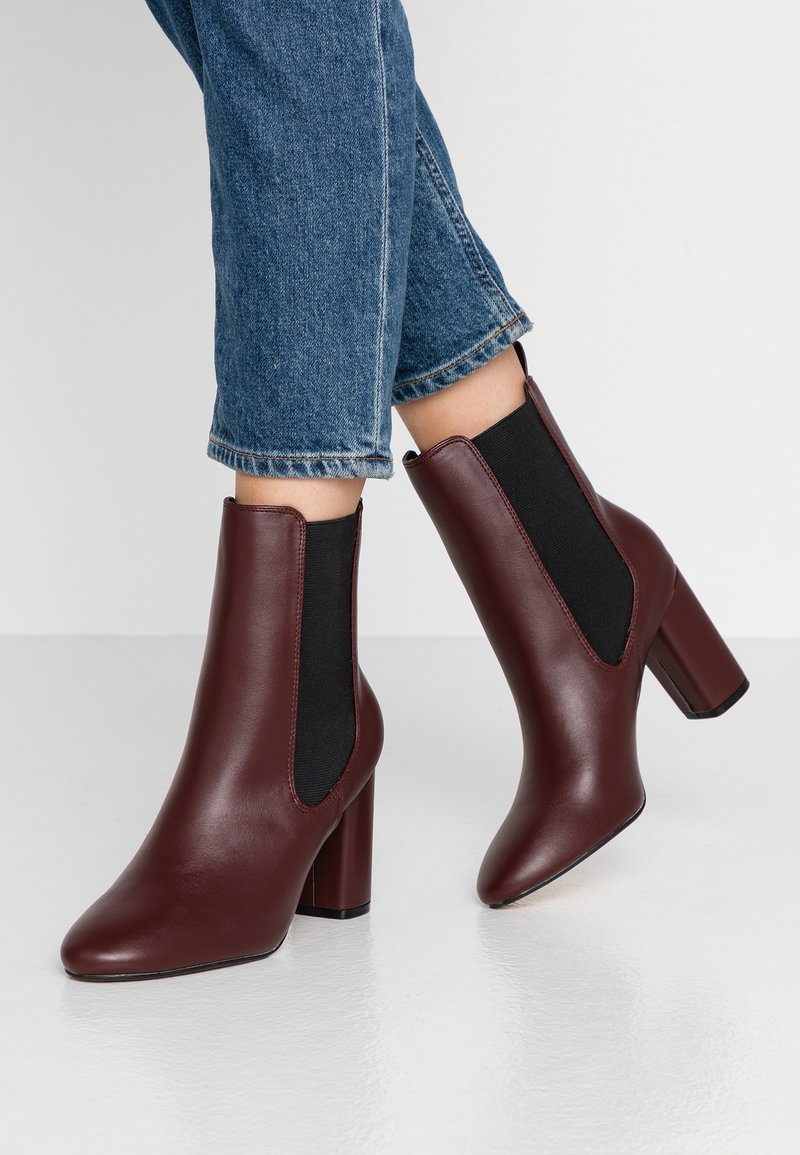 Head over Heels by Dune - OTTY - Bottines à talons hauts - burgundy